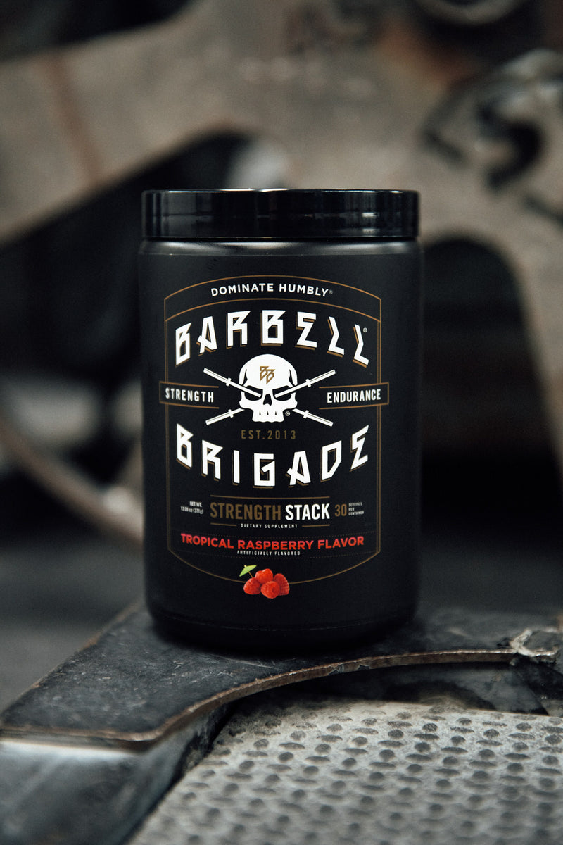 BB - Strength Stack (Tropical Raspberry) [Backorder - Available to Purchase]  [INTERNATIONAL DELIVERIES ONLY]