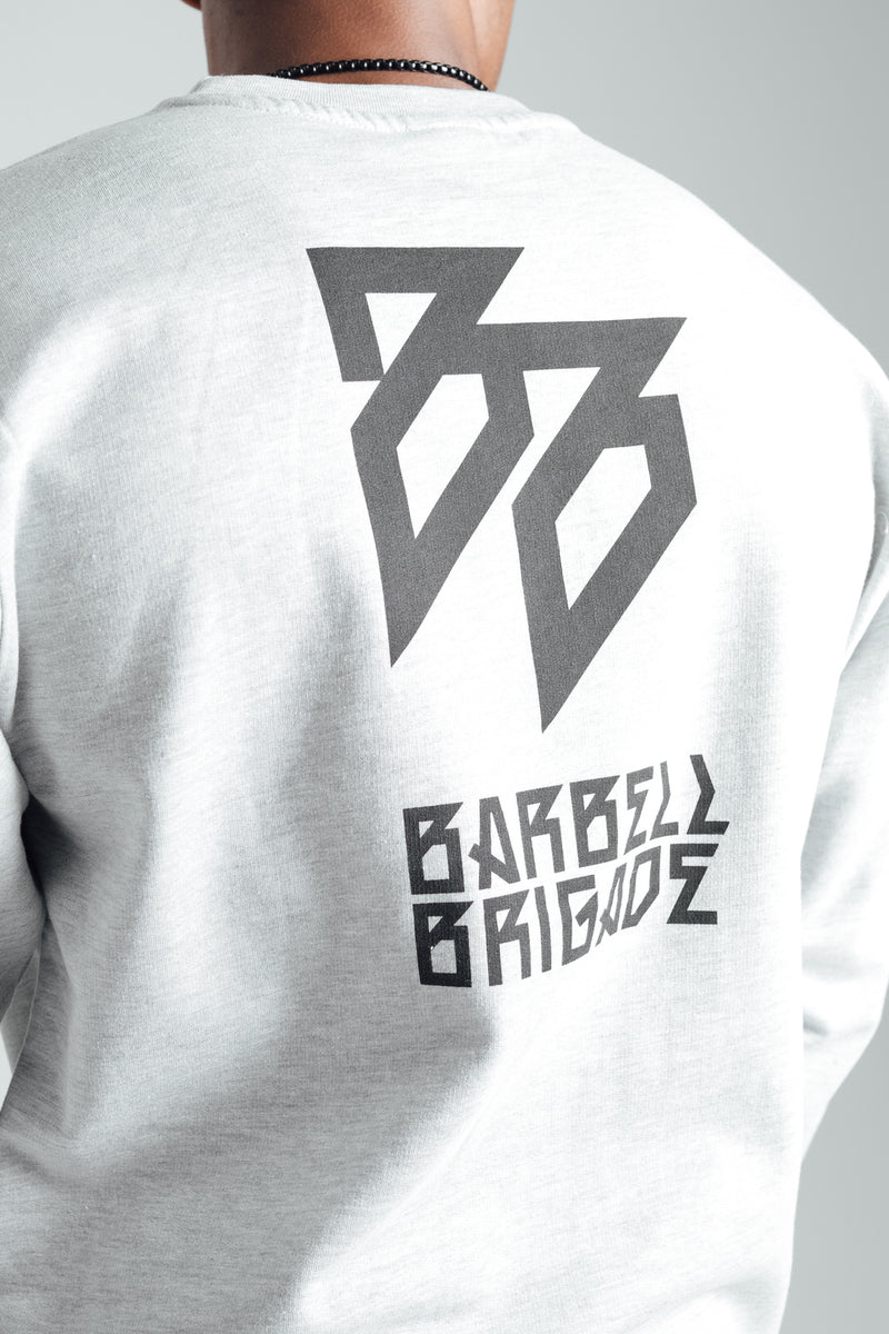 BB - Crewneck Sweater (Grey Heather)