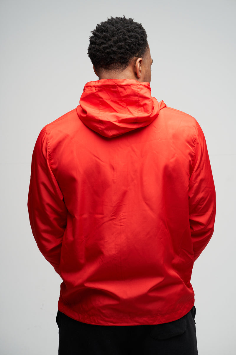 BB - Windbreaker Zip Jacket (Red)