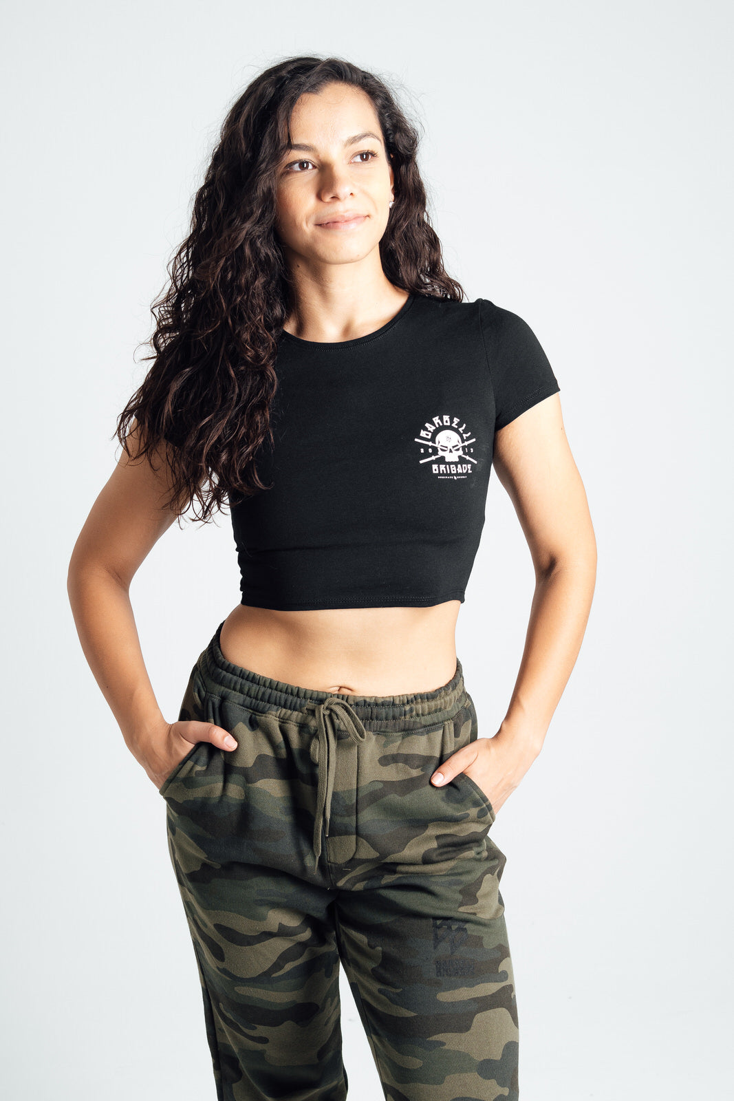 Rebirth - Women's Cropped Tee (Black)