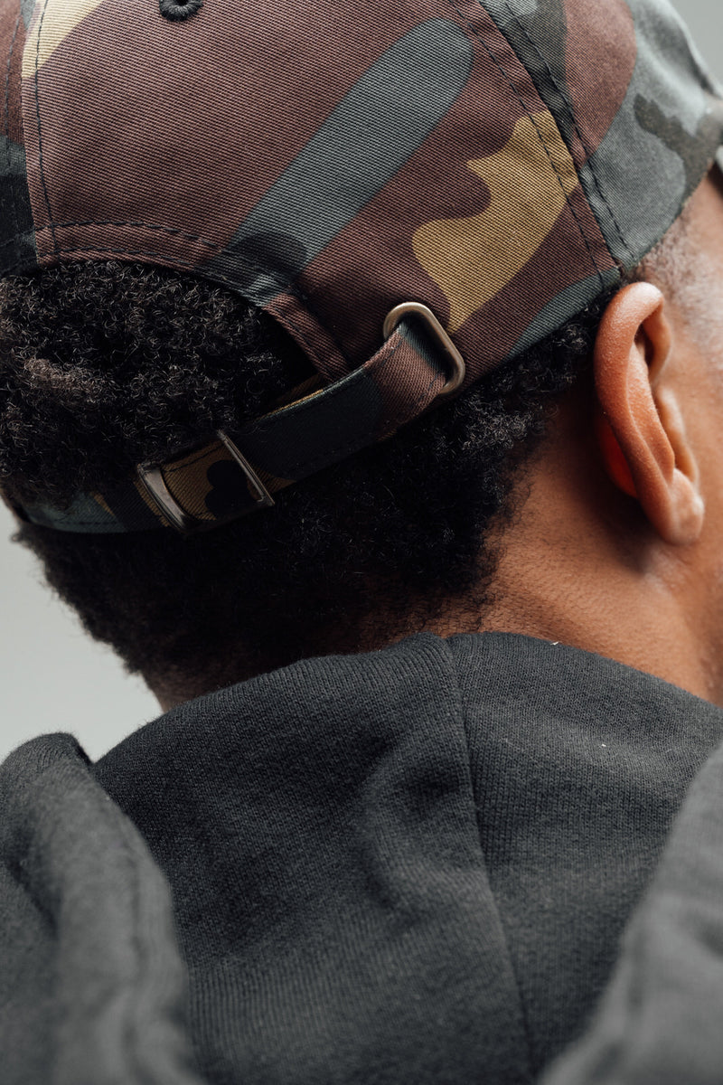Dominate Humbly Script - Dad Hat (Camo)