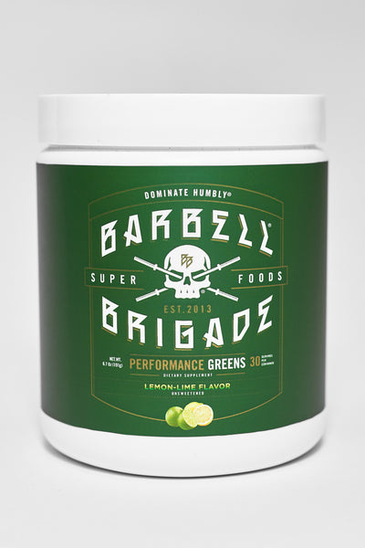 BB - Performance Greens (Lemon Lime)