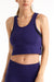 Lux - Scoop Neck Crop Tank (Violet)