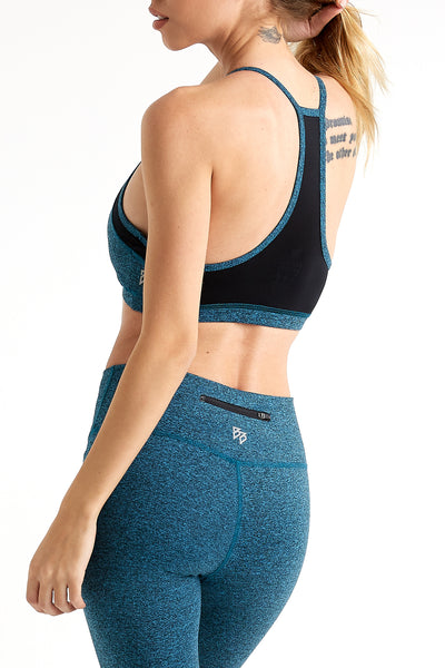 Lux - Sports Bra (Teal)