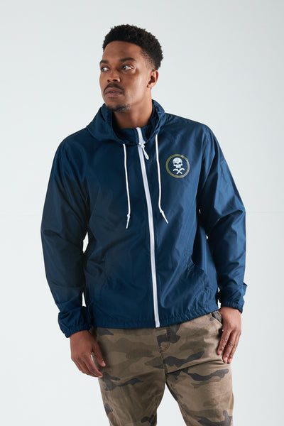 HVIII Brigade - Windbreaker (Navy/ White)