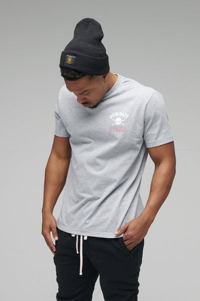 Axiom - Tee (Heather Grey)