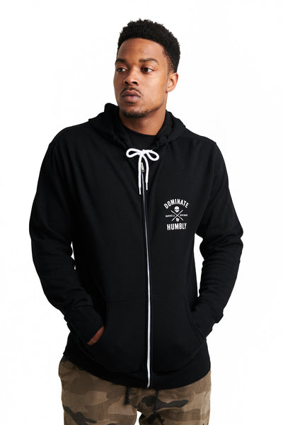 Battle Zone - Zip Hoodie (Black)