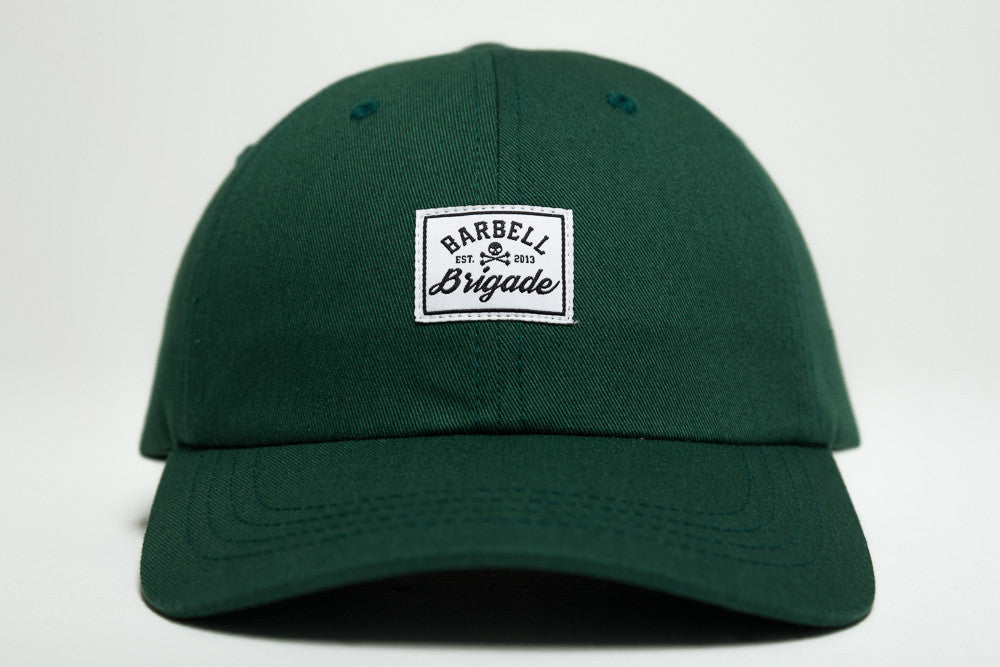 Barbell Brigade - Dad Hat (Spruce)