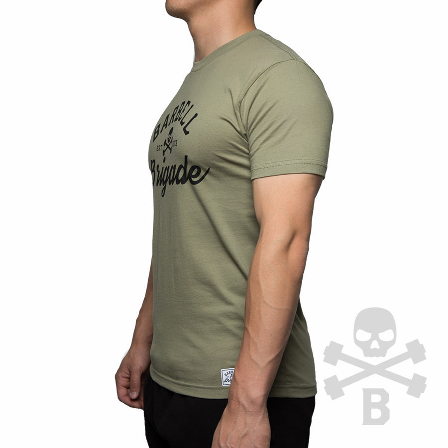 Barbell Brigade - Tee (Olive)