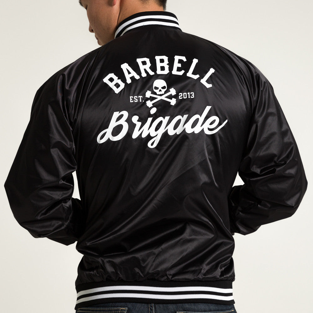 Barbell Brigade - Club Jacket (Black)