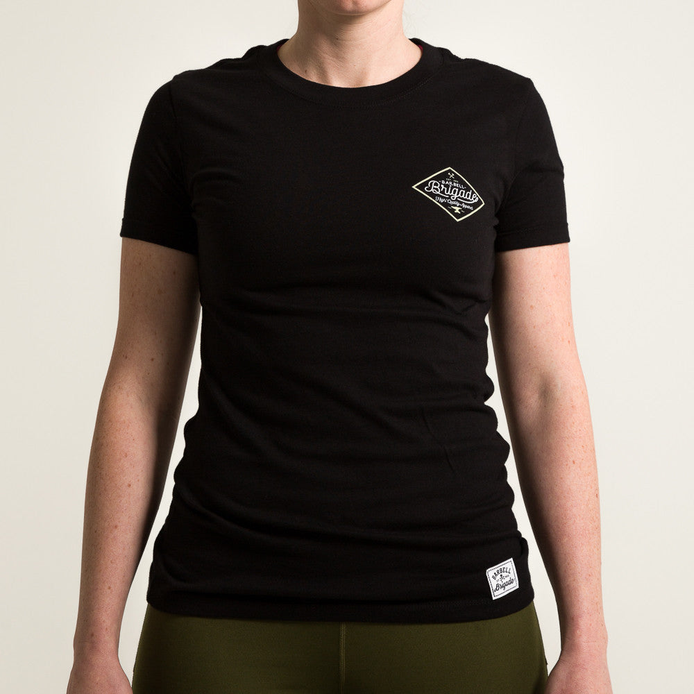 Foundry - Women's Tee (Black)