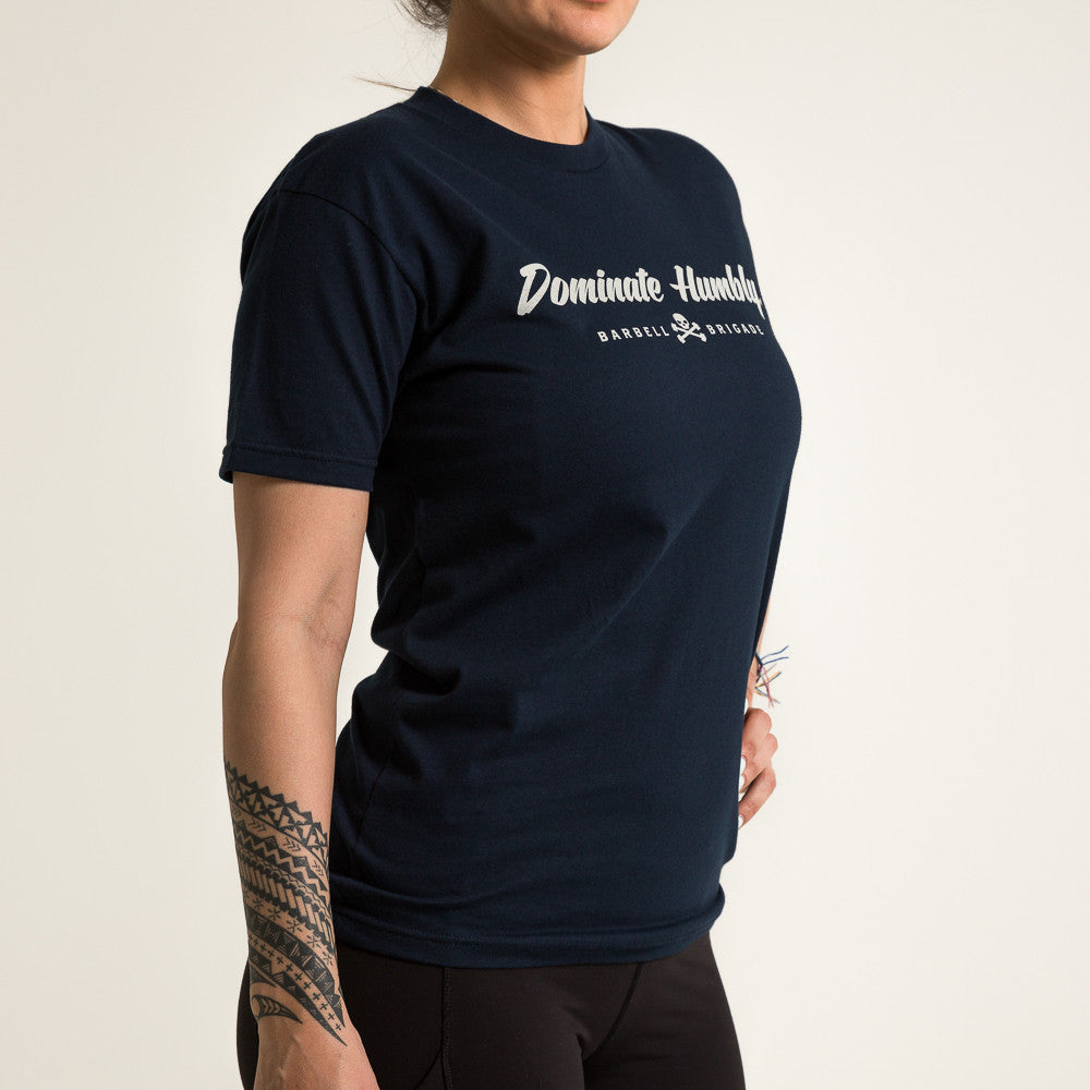 Dominate Humbly - Tee (Midnight Navy)