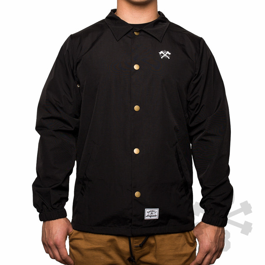 Destroy and Create - Coach Jacket (Black)