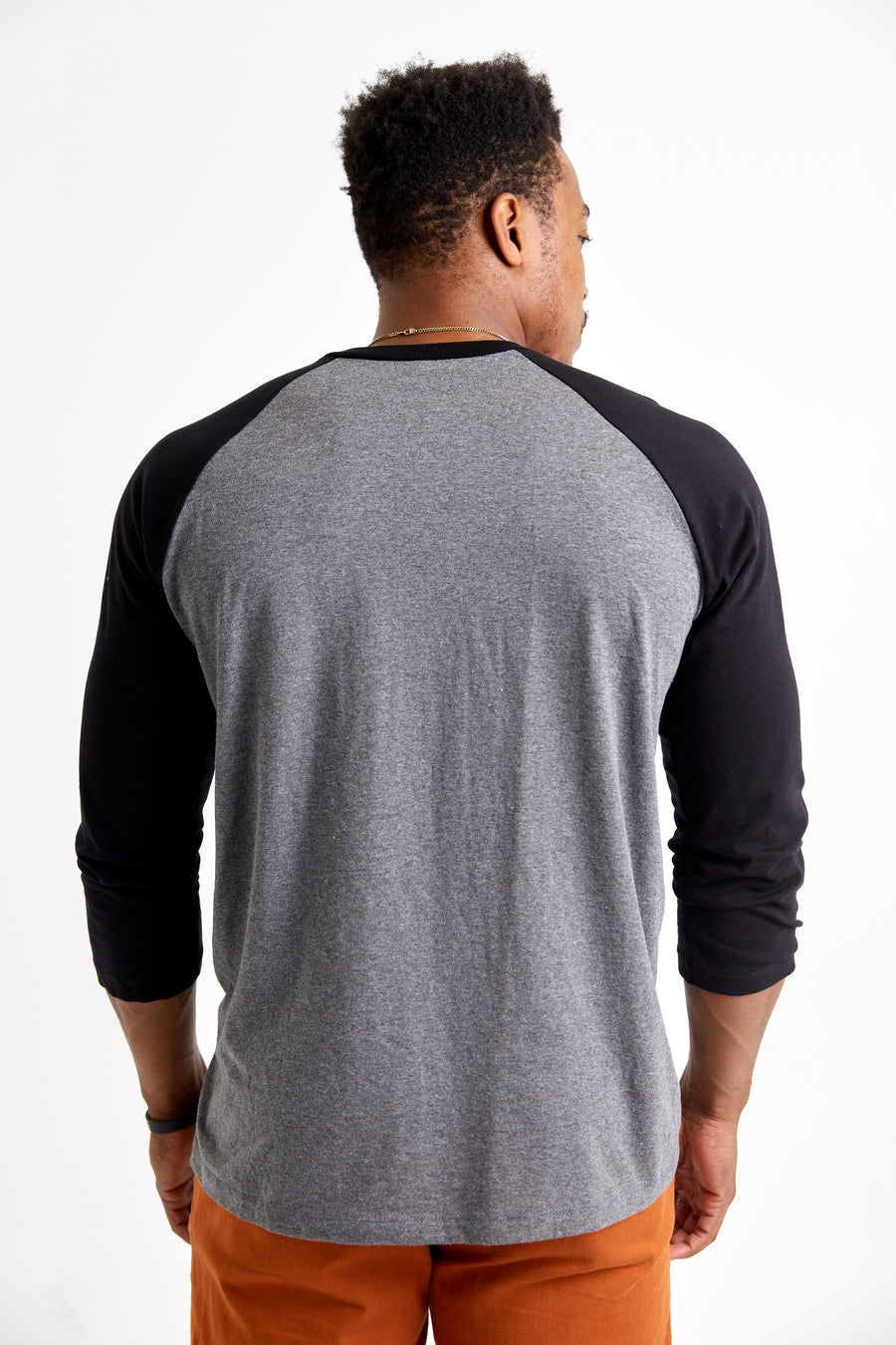 Hometurf - Raglan Tee (Heather Grey/Black)
