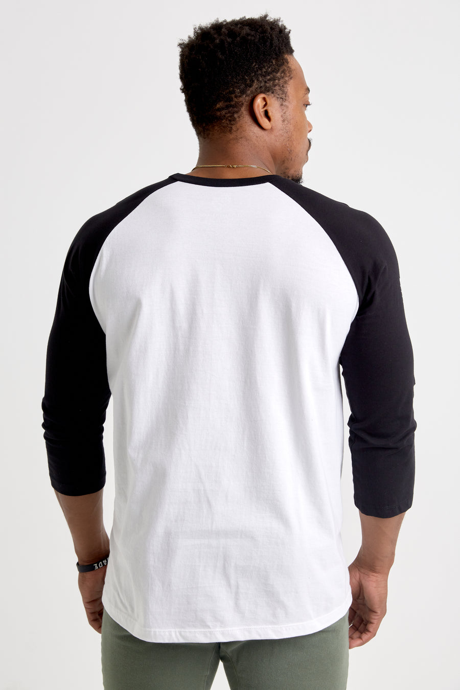Hometurf - Raglan Tee (White/Black)
