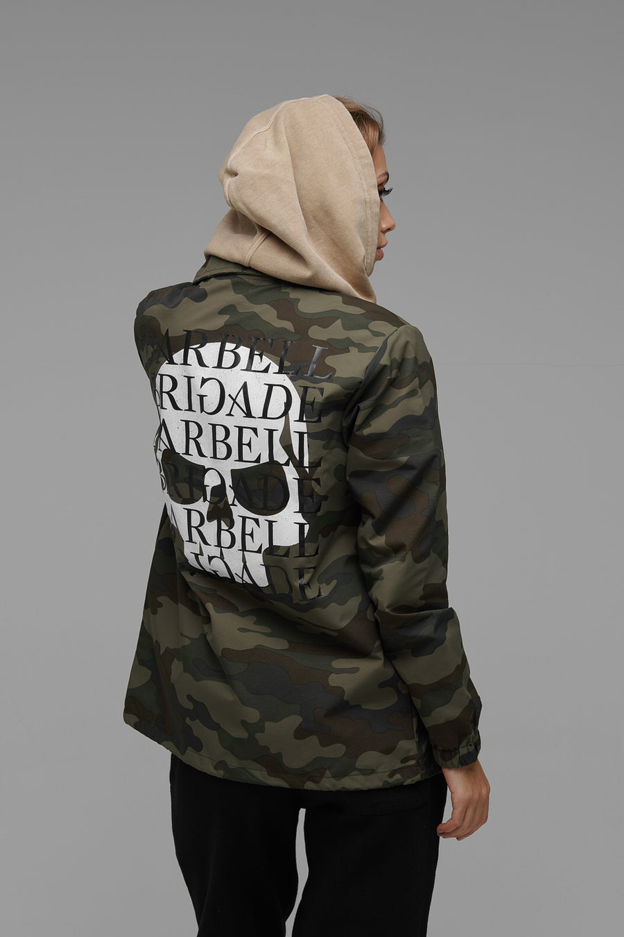 Black Site - Coach Jacket (Camo)