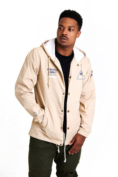 Troop - Coach Jacket (Classic Khaki)