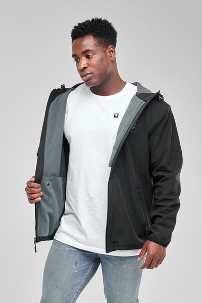 Rebirth - Soft Shell Tech Jacket (Black)