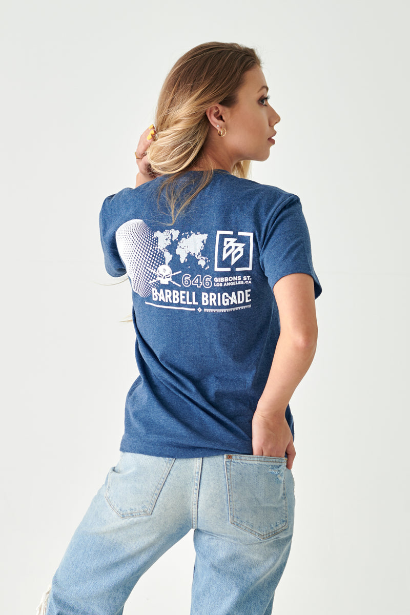 Latitude - Tee (Navy Heather)