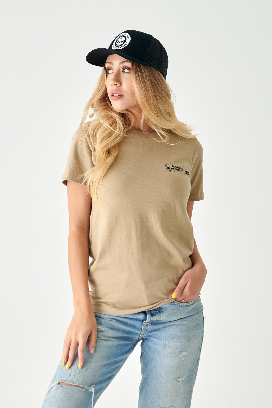 Angel City - Tee (Khaki Heather)