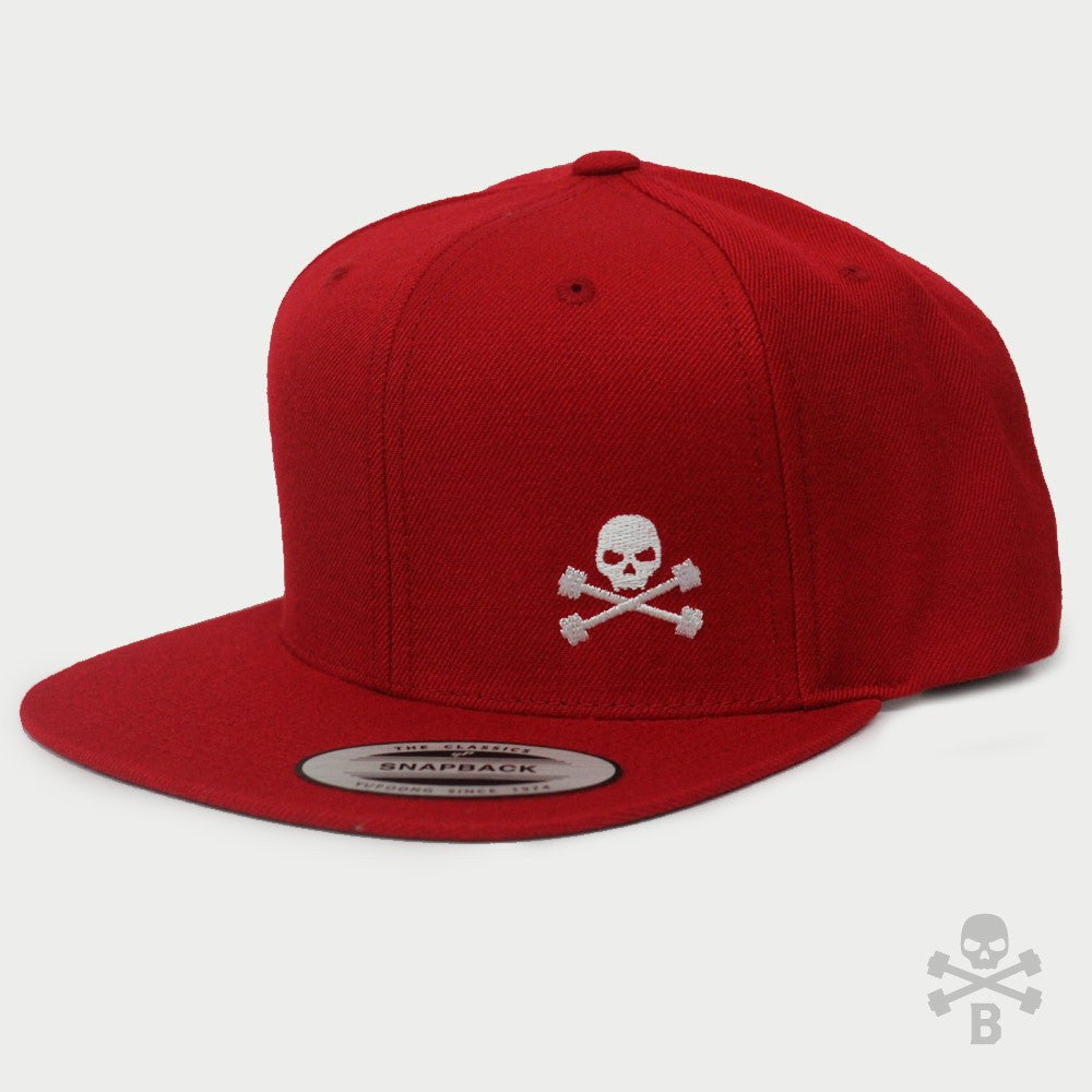 Classic Snapback - Hat (Red)