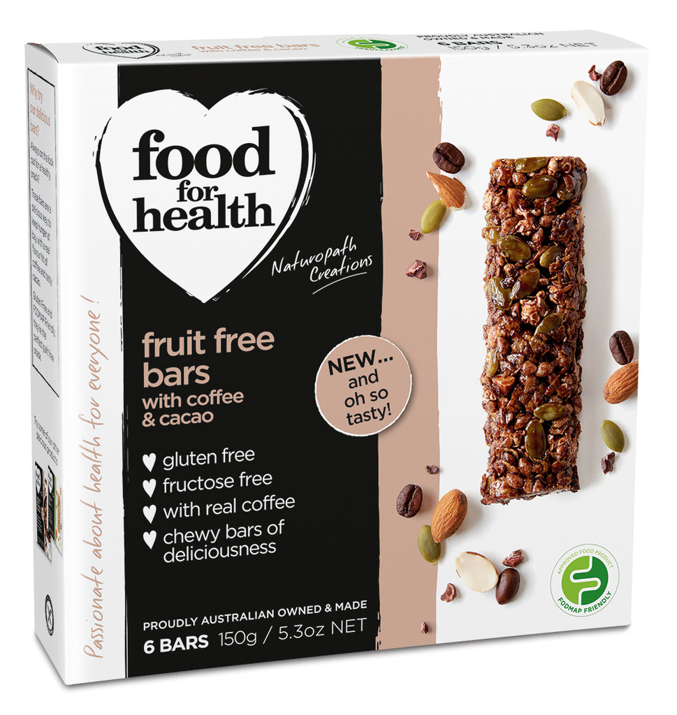 Fruit Free Bars with Coffee & Cacao