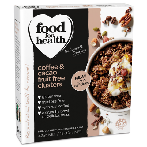 Coffee & Cacao Fruit Free Clusters