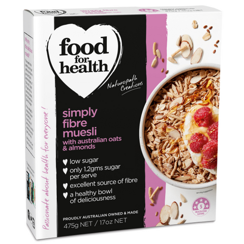 Simply Fibre Muesli with Cinnamon and Almonds