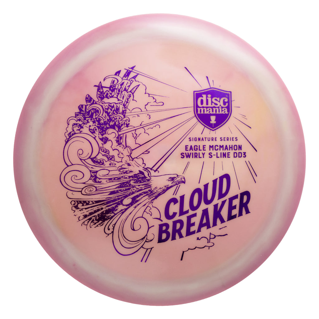 Discmania Eagle McMahon Swirl S-Line DD3 (Cloud Breaker)