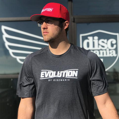 Discmania Evolution Performance Crew Tee