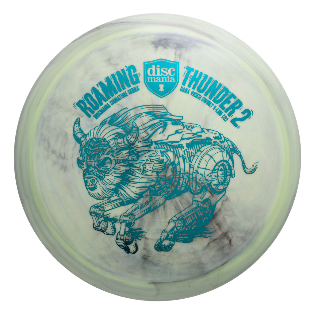 Discmania Dana Vicich Signature Swirl S-Line CD2 (Roaming Thunder 2)
