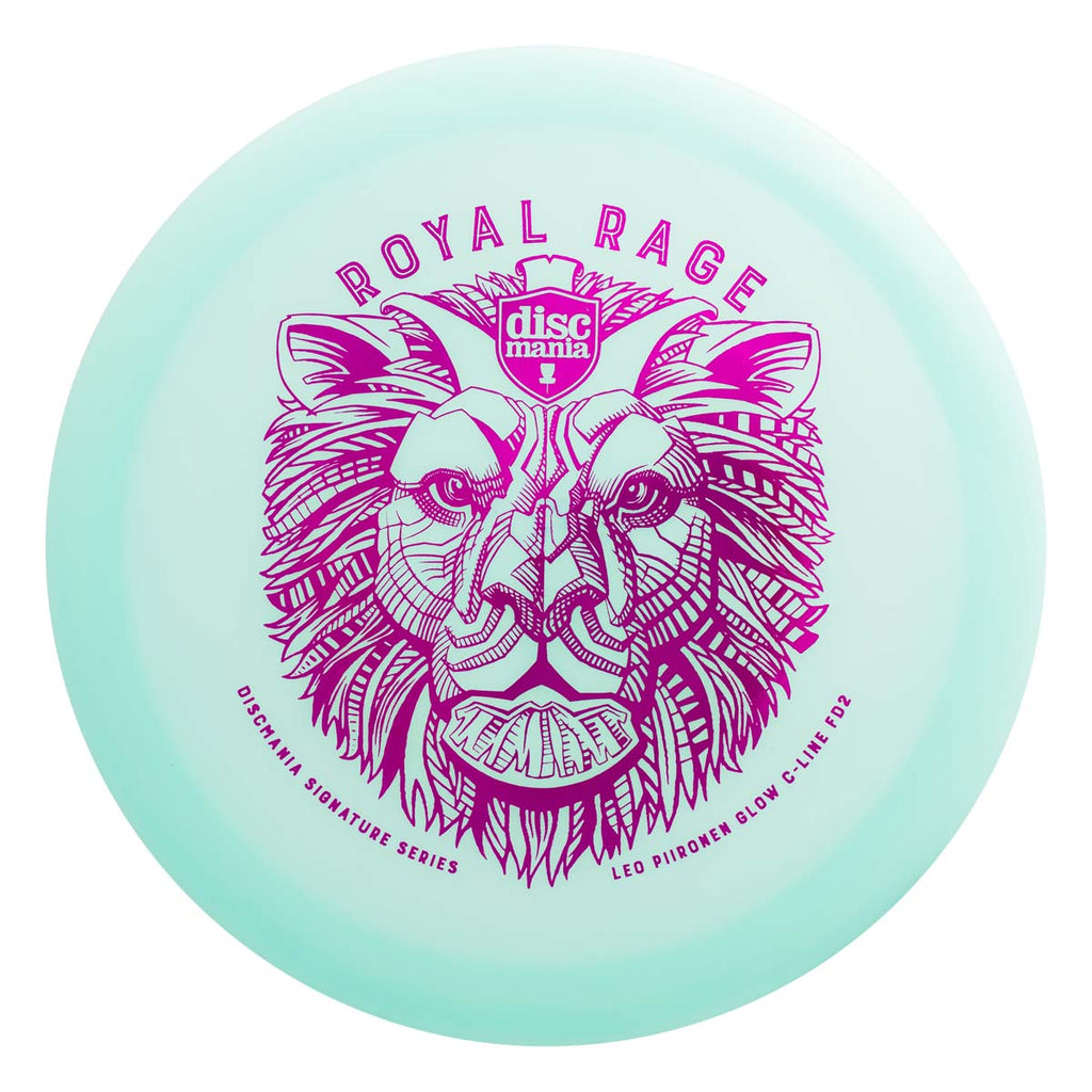 Discmania Leo Piironen Signature Color Glow C-LINE FD2 (Royal Rage)