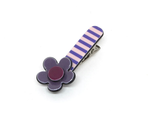 Little Inky flower - purple stripe