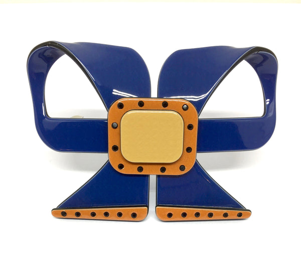 Fancy Bow - Dark blue