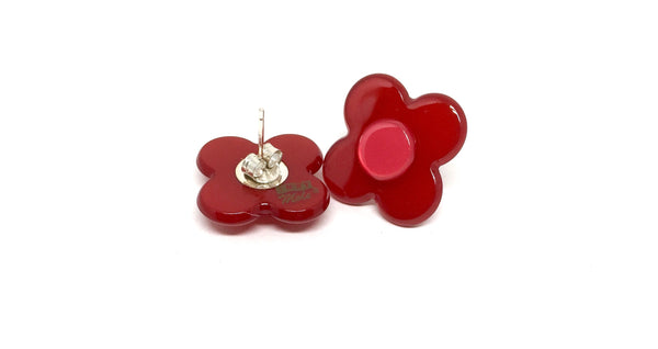 Hanover Earrings - Red