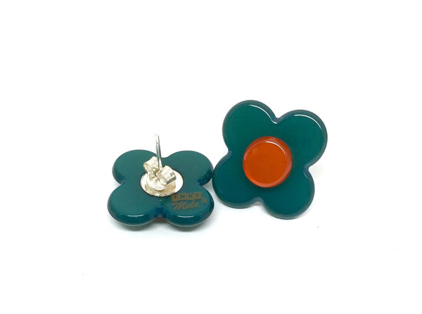Hanover Earrings - Teal