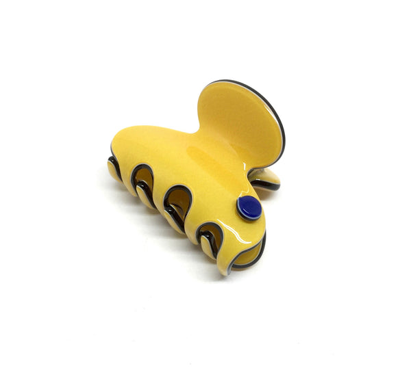 Barcelona mini claw - yellow