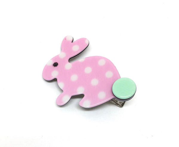 Little Inky Rabbit - pale pink
