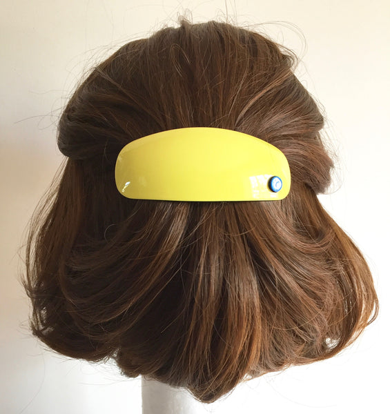 Morocco Barrette - Yellow