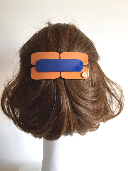 Berlin Barrette - Dark blue