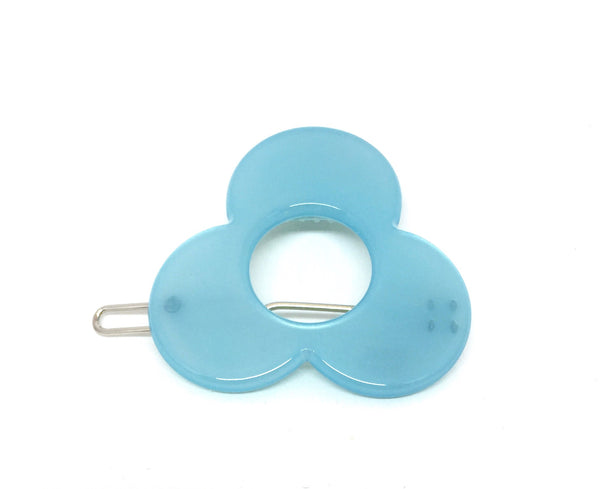 Barcelona Hairclip - pale blue