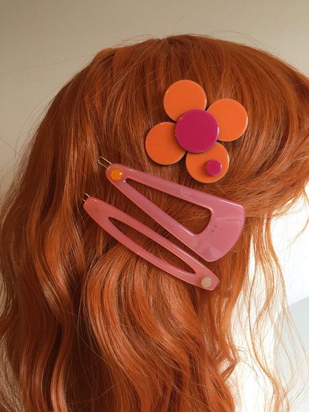 Naples Hairclip - pink