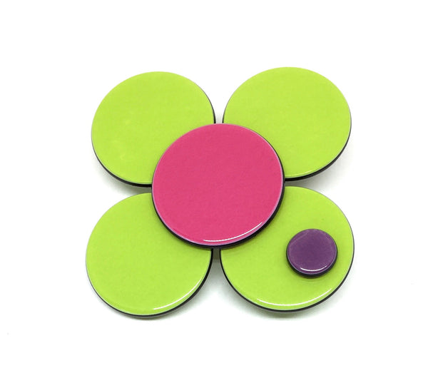 Florence flower - Lime green