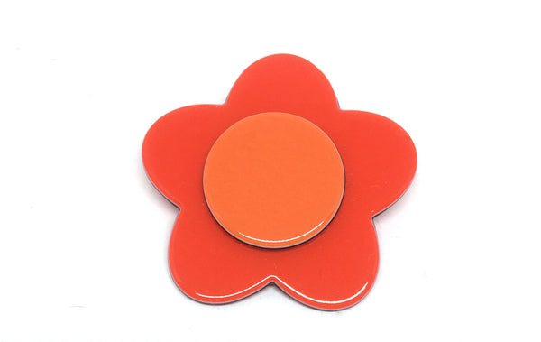 Bibi flower - Bright orange