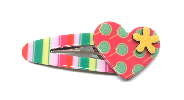 Heart click clack - Multi stripe