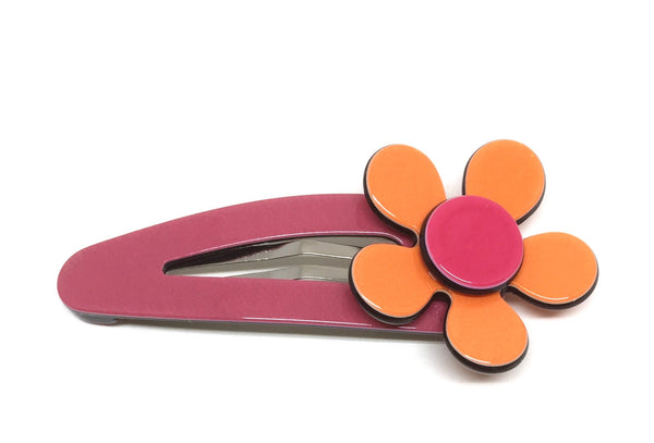Flat flower click clack - Orange