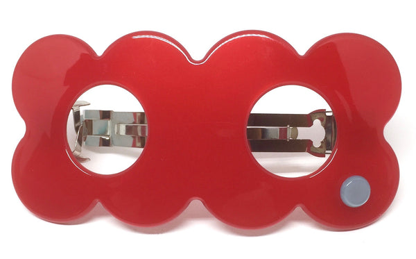 Hanover Duo Barrette - red