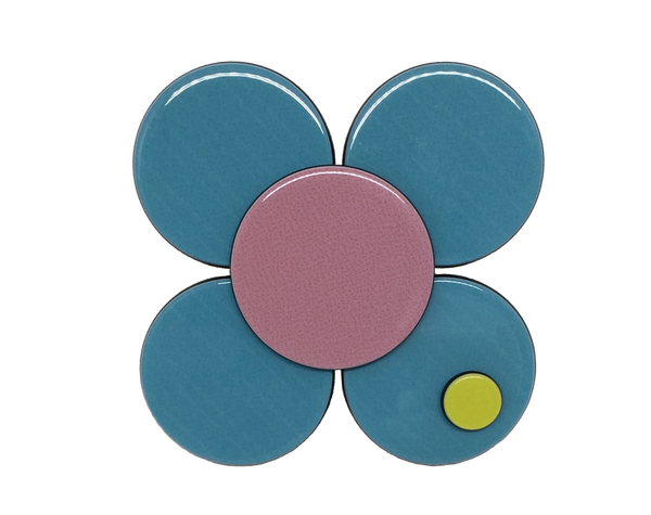 Florence flower - turquoise