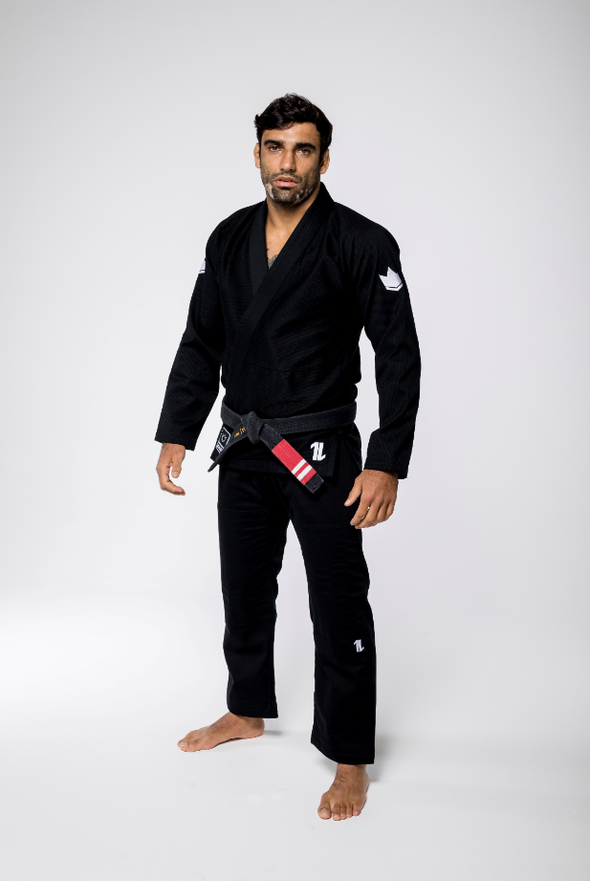 The One Kimono with FREE Whitebelt - Black