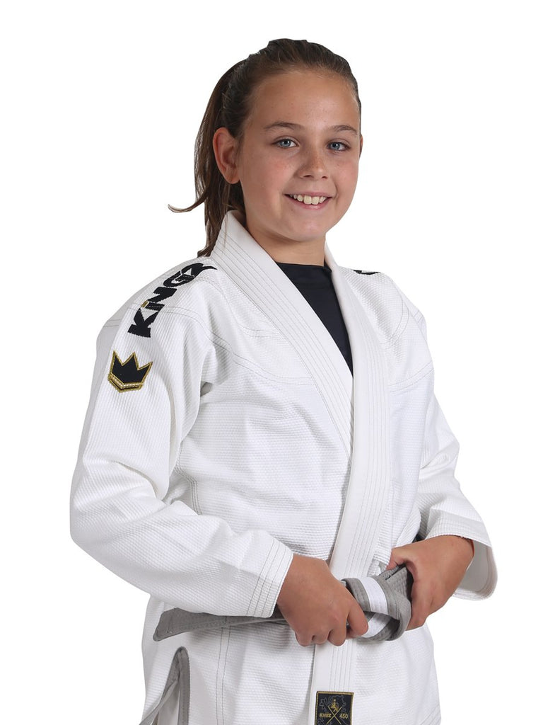 Kid's Comp V5 Jiu Jitsu Gi - White